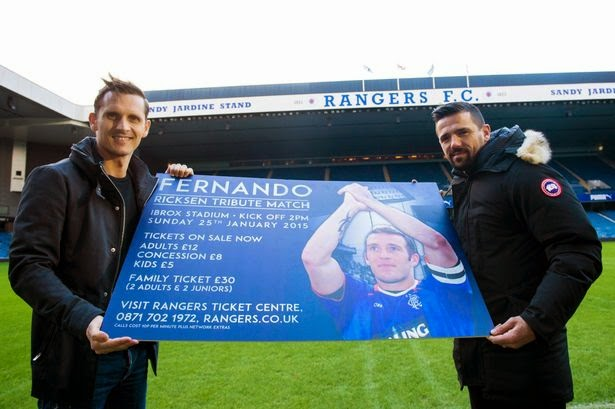 The stars come out for Fernando – let's sell out Ibrox