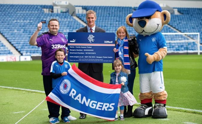 Rangers confirm 32,000 season ticket sales