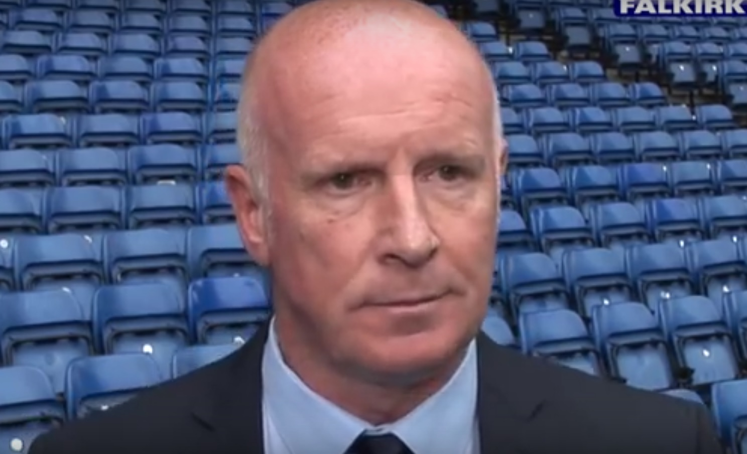 Peter Houston admits at Ibrox that Falkirk are a 'diddy team'