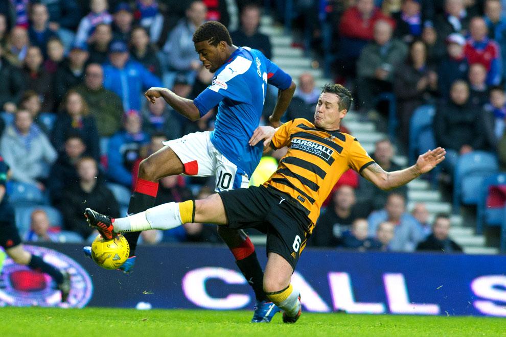 Tottenham's Nathan Oduwa at Ibrox – half term report