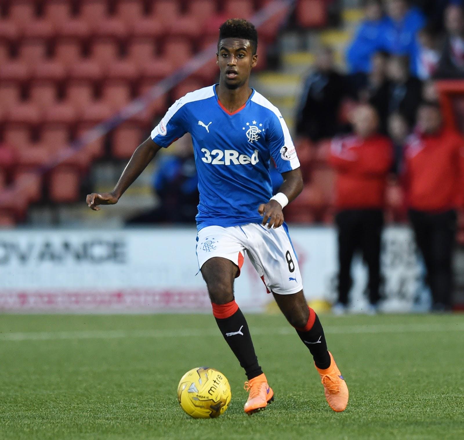 Arsenal's Gedion Zelalem at Ibrox – half season report