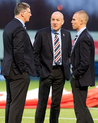 How do Rangers plan for next season?
