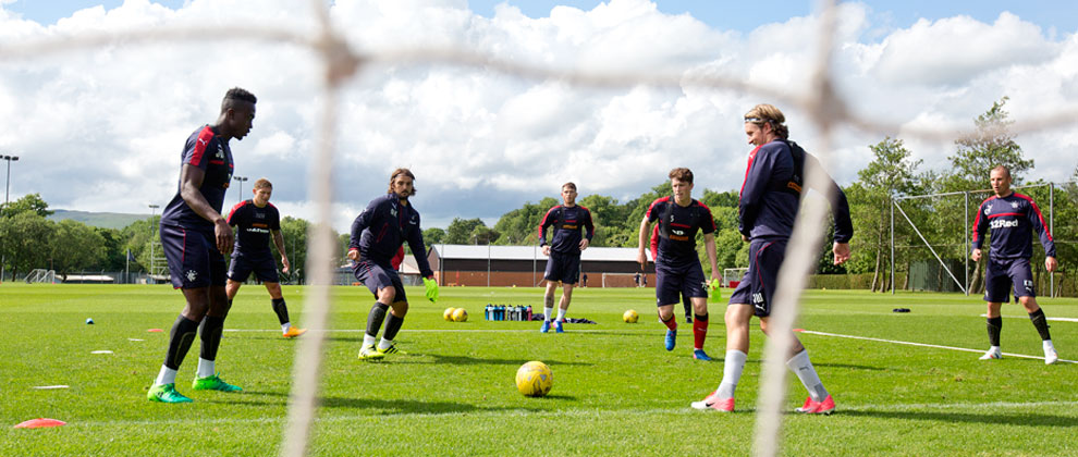 Rangers' return to training; who came back and who didn't?
