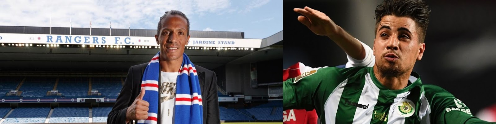 Meet Rangers' new central defence; 99% done