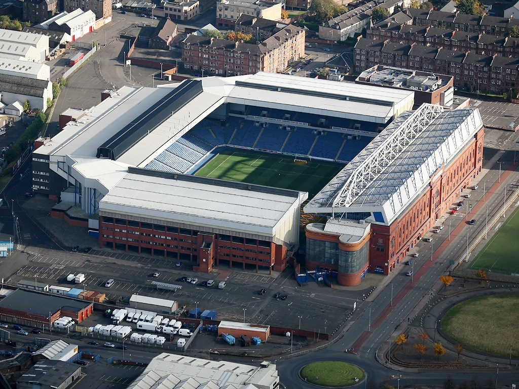 What a difference a week makes at Ibrox…