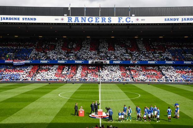 A congratulations to Celtic, from Rangers?