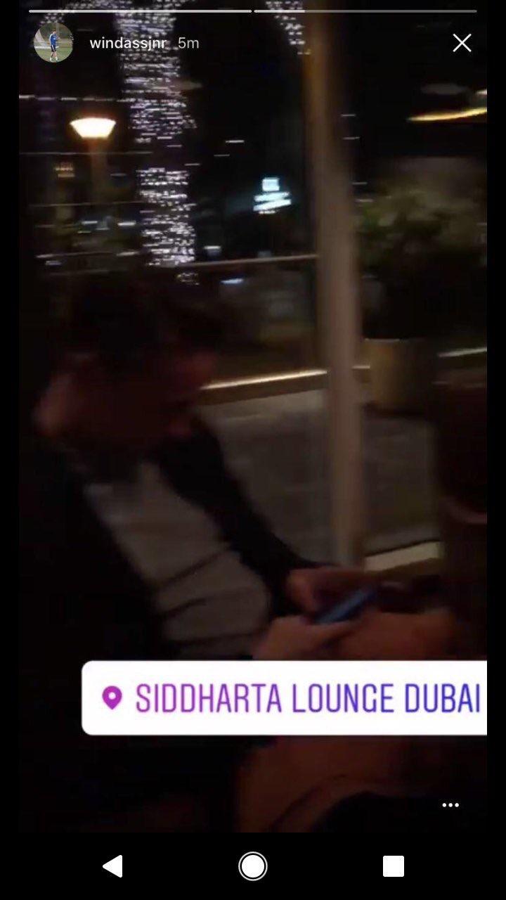 PHOTO: Josh Windass and Scott Allan holiday in Dubai
