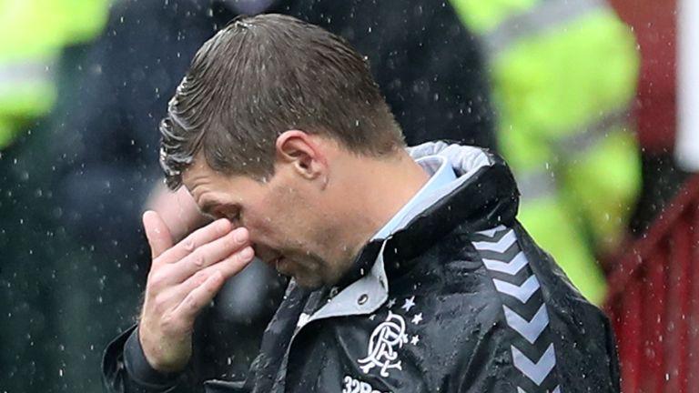 What's gone wrong for Steven Gerrard's Rangers?