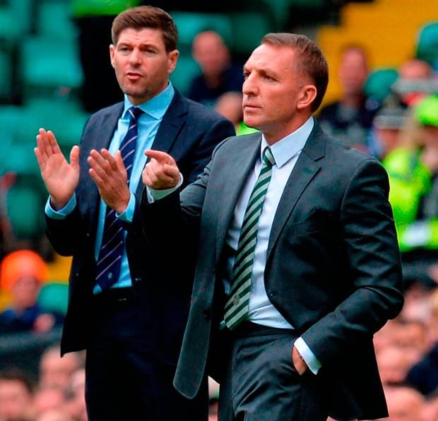 Rangers v Brendan Rodgers