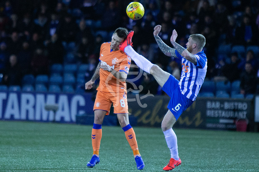 Photo of post-Morelos scandal at Rugby Park – how is this NOT a red?