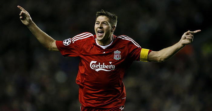 Gerrard rival has paid him tribute with a huge compliment