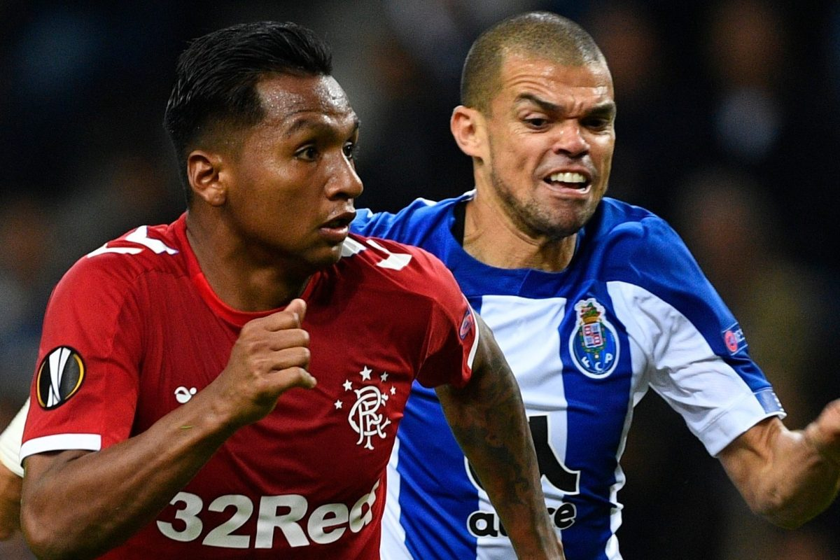 Alfredo Morelos did something extremely unexpected last night