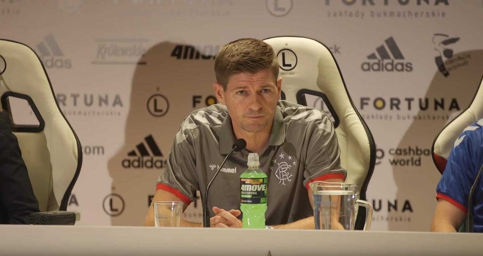 Has Steven Gerrard just hinted at major Ibrox change?