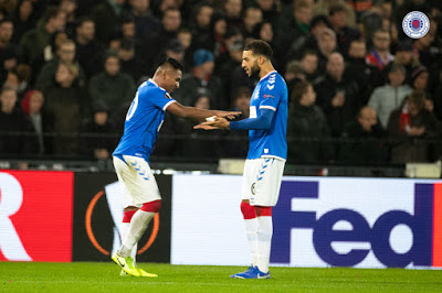 Jubilant Rangers fans may have missed THIS in Rotterdam…