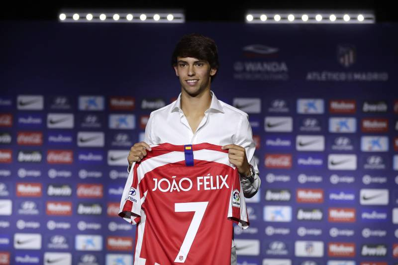 £40M? Joao Felix reckons that might not be enough for Morelos…