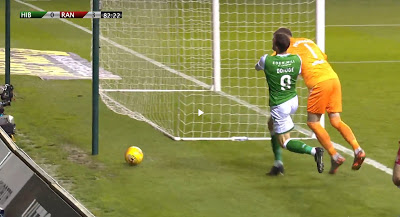 The one that got away – assault missed at Easter Road