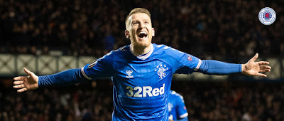 We don't think anyone noticed this Rangers UEL stunner – did you?