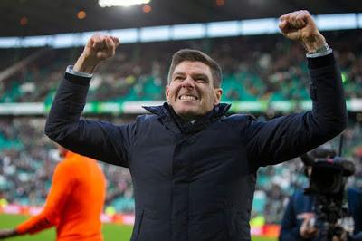 Just what did Steven Gerrard achieve yesterday?