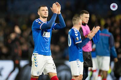 Rangers fans given megaboost over Borna Barisic