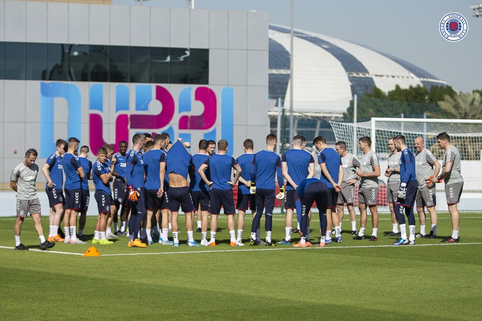 Surprise inclusion for Rangers' Dubai trip