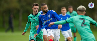 Rangers appear to 'diss' former player – no love lost