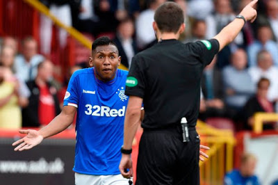 What are the SFA going to do to Alfredo Morelos?