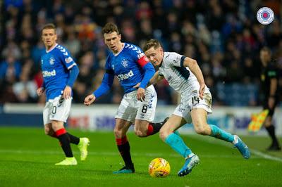 Stevie made a huge Rangers call last night between four men