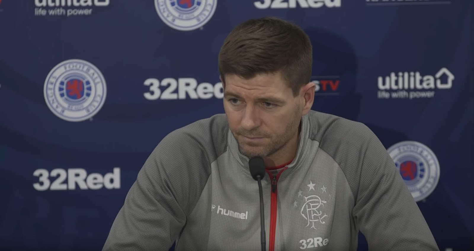 Steven Gerrard 'reveals' position on Barisic, Goldson and Morelos