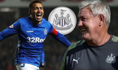 Newcastle are reportedly lining up a double Rangers January swoop