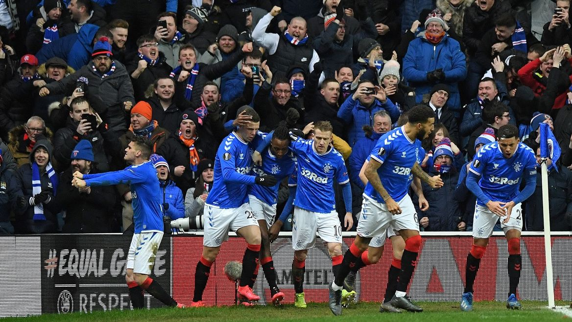 Rangers and the last 16 of the Europa League…