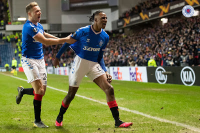 A staggering night of belief at Ibrox