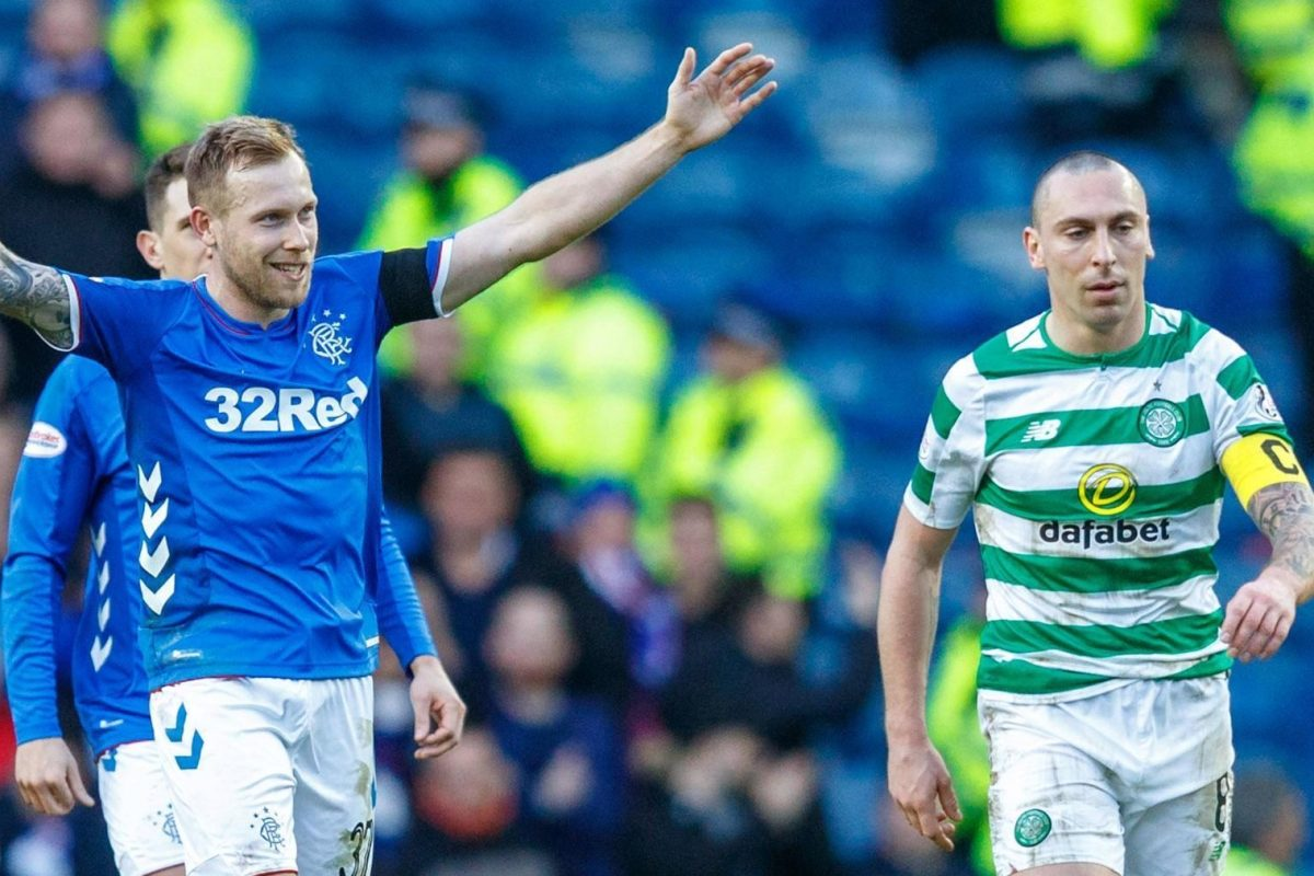 There's a 'secret' about four Rangers players…