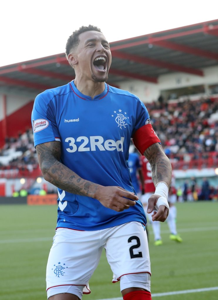 James Tavernier's quotes tonight are a disgrace