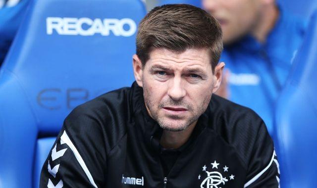 Gerrard signing with big update – leaving Rangers?