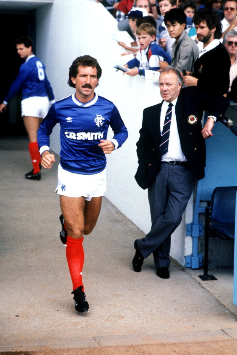 Did Graeme Souness have an issue with Rangers chief?