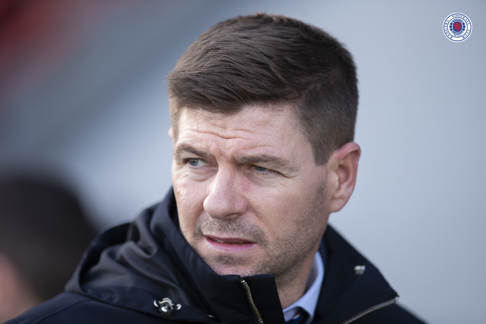 87% of Gers fans have sent a message to Stevie