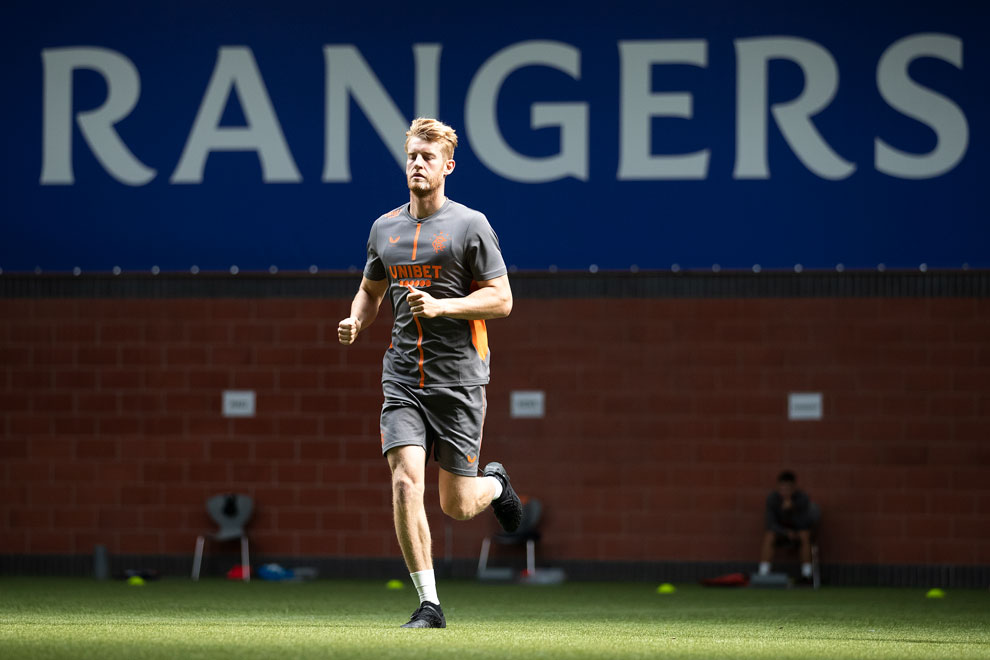 Nine things we spotted back at Rangers training