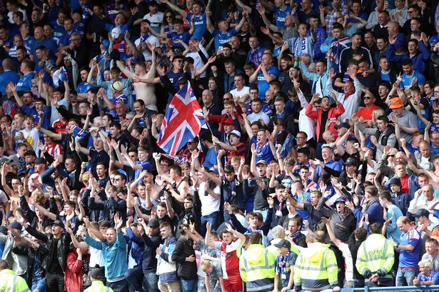 Rangers fans identify who they want out