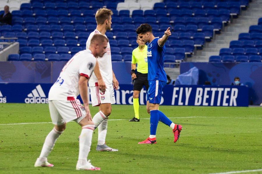 """Best performance in a Rangers shirt – 9"" – match ratings v Lyon"