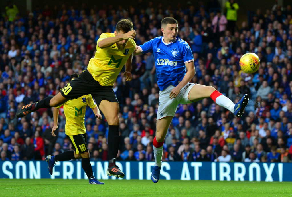 Forgotten man at Ibrox just doesn't figure