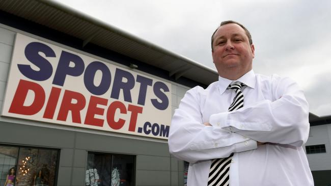 What on earth is going on with Sports Direct?
