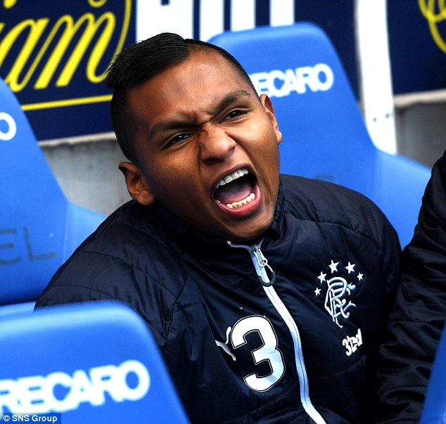 Morelos confirms he wants to leave Rangers