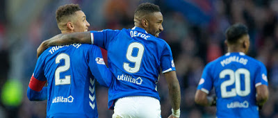 A 1M surprise at the top of Rangers' fan chart….