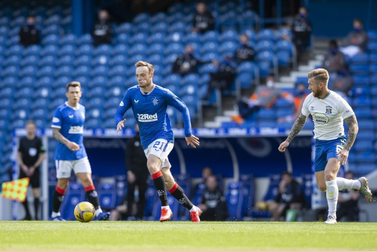 Brandon Barker and the winger Rangers really had