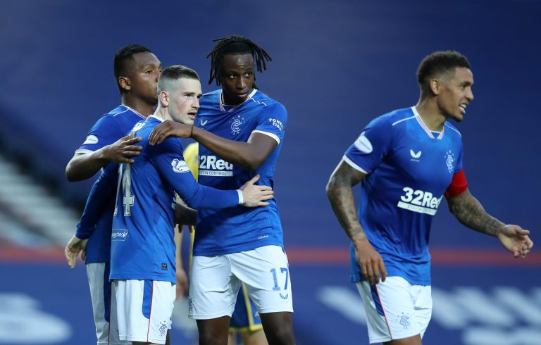 Rangers have a bonus factor to add to Ryan Kent's form