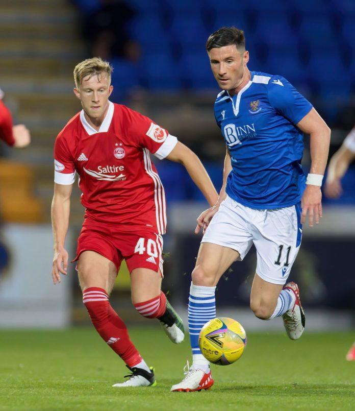 Rangers News, Ross McCrorie in action for Aberdeen