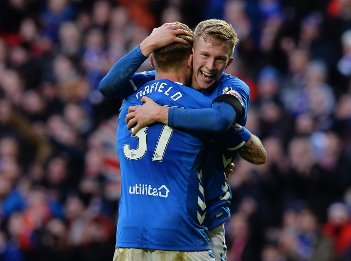 Featured image with ex-Ranger Ross McCrorie