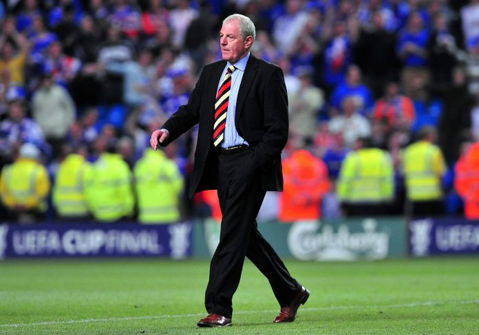 Former Rangers manager and Legend Walter Smith