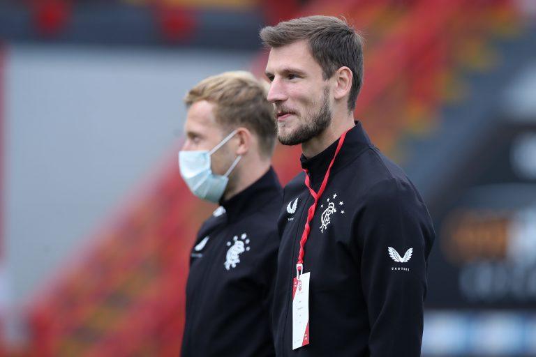 Steven Gerrard has a dilemma with Borna Barisic