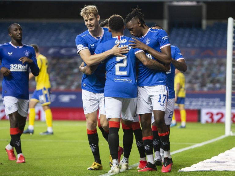 The untold story of the rising £3M star at Ibrox